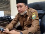 Kabid Perbendaharaan Badan Pengelolaan Keuangan dan Aset Daerah (BPKAD) Pemkab Muaro Jambi, Irvan Kurniawan.(Jambipers.com/Voltaire)