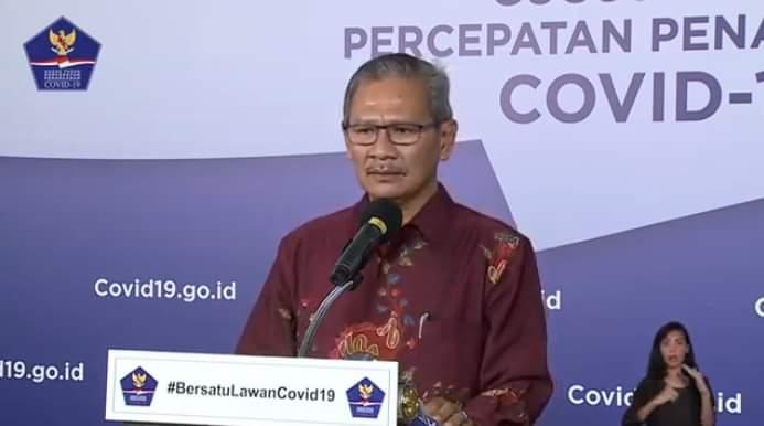 Jubir Pemerintah untuk penanganan Covid-19, Achmad Yurianto. (ist)