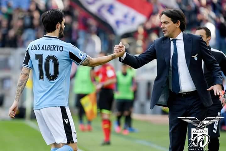 Pelatih Lazio Simone Inzaghi