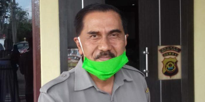 M.Zakir mantan Kepala BPBD Muaro Jambi.(Jambipers.com/foto:Raden Hasan Efendy)