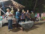Balon Wakil Bupati Batanghari, Bakhtiar saat menghadiri acara pagelaran seni di Sridadi