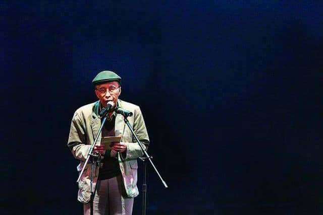 Sastrawan Indonesia Sapardi Djoko Damono semasa hidup