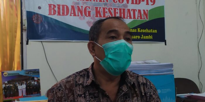 Plt Kadis Kesehatan Muaro Jambi, Yes Isman.(Foto:Raden Hasan Efendi)