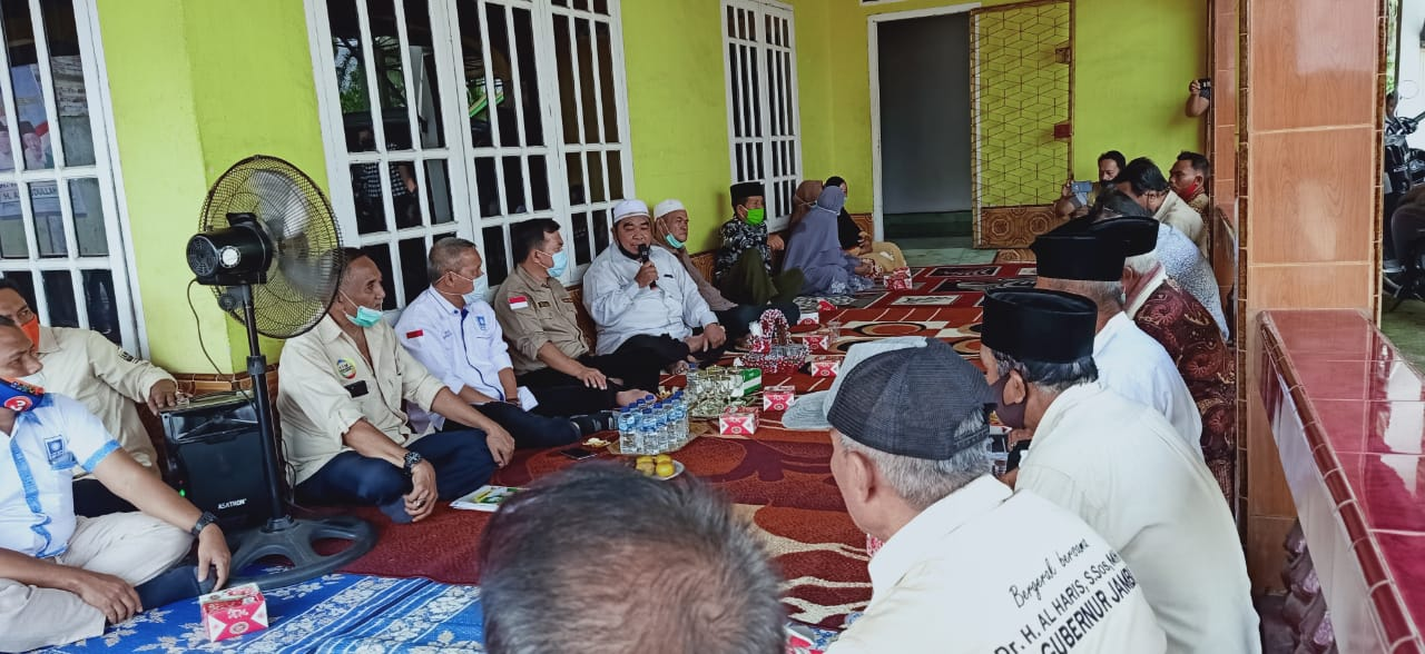 Tokoh-tokoh masyarakat Kecamatan Sekernan nyatakan dukungan ke Haris - Sani