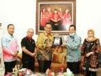 Wabup Bambang Bayu Suseno saat berkunjung ke Pringsewu