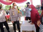 Kapolda Jambi Irjen A Rachmad Wibowo cek persiapan TPS di Kabupaten Bungo.(ist)