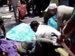 Foto laka lantas yang terjadi di Jalan Raya Labuan Lombok-Mataram.(ist)