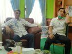 Kadis P&K Muaro Jambi, Erwanisah bersama Kabid Pembinaan Ketenagaan, Firdaus.(Foto:Fes)