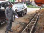 Proyek Draiase di Jaluko ditemukan masih dikerjakan melewati tahun anggaran.