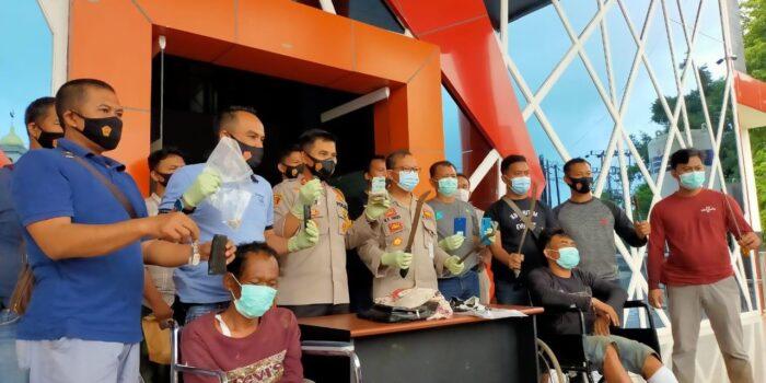 Dua perampok sadis asal Aceh dihadiahi timah panas.(Foto:Raden Hasan Efendi/Jambipers.com)