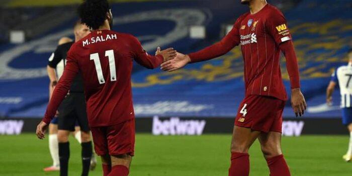 M.Salah penyerang Liverpool.