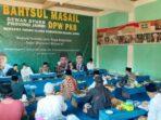 Acara Bahtsul Masail di Pondok Pesantren Al-Qur'an As-salafiyah