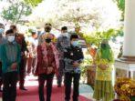 Pj Gubernur Jambi Dr Hari Nur Cahya Murni kunjungan kerja ke Merangin.