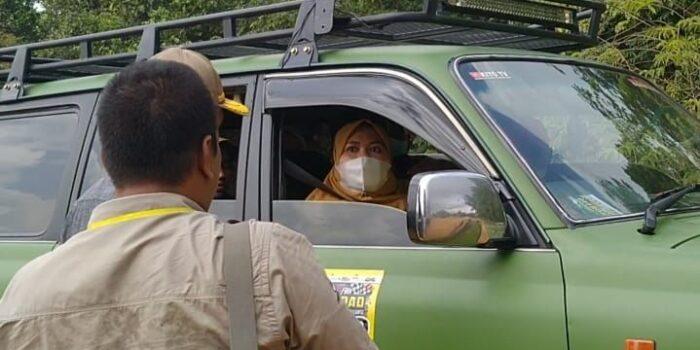 Bupati Masnah Ikuti Ajang Off-road Adhyaksa