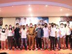 Wakil Bupati Tanjab Barat, Hairan, S.H hadiri Pelantikan dan Rakercab pengurus BPC HIPMI Kabupaten Tanjung Jabung Barat