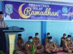 Bupati Kerinci Adi Rozal saat membuka Pesantren Kilat Ramadhan 1442 H