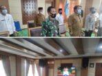 Jajaran Pemkot Sungai Penuh bersama Forkopimda ikut giat Rakor dengan presiden.