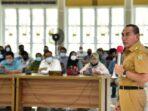 Gubernur Sumut silaturahmi dengan wartawan.