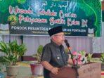 Wakil Bupati Kabupaten Kerinci Ir H.Ami Taher saat menyampaikan sambutan