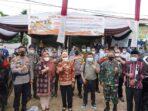 Pj Gubernur Jambi saat memantau pelaksanaan PSU Pilgub Jambi di Pijoan