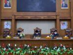 sidang paripurna penyampaikan rekomendasi fraksi-fraksi DPRD Muaro Jambi.