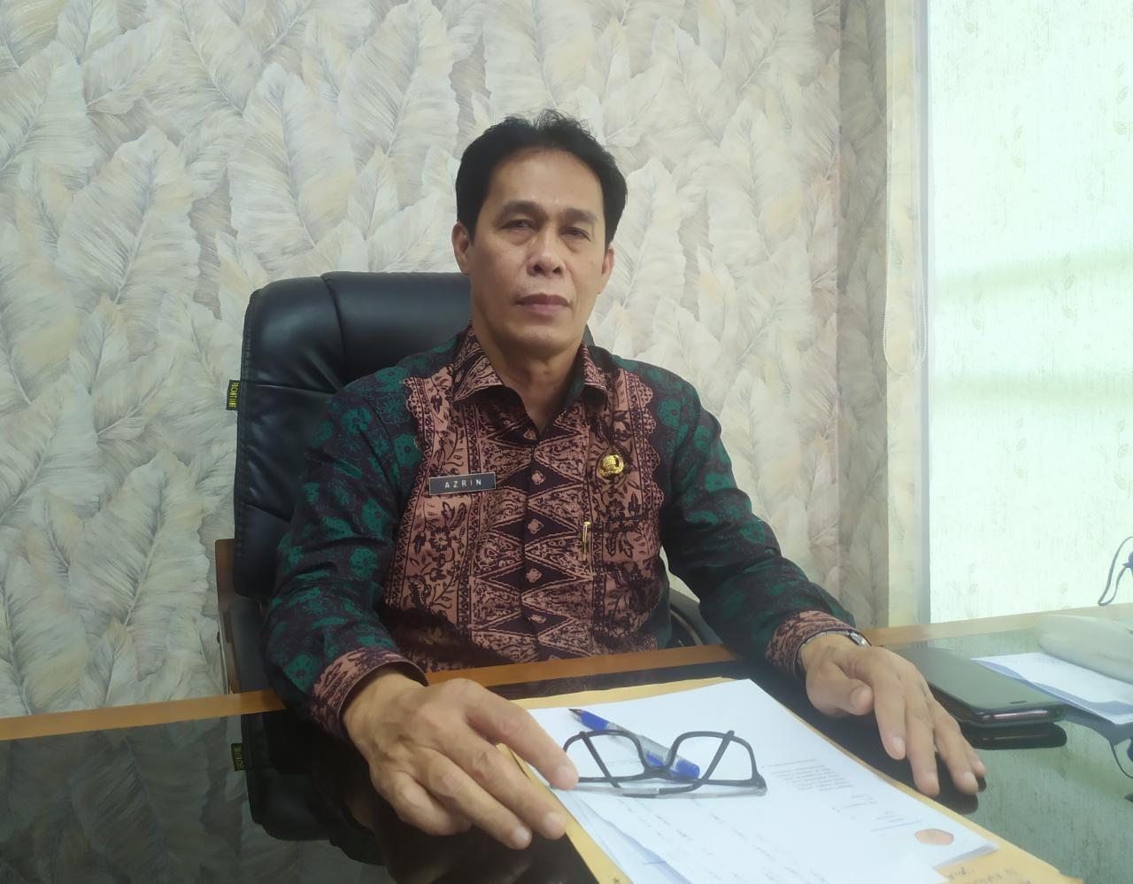 Penjabat (Pj) Sekretaris Daerah Kabupaten Muaro Jambi, Azrin