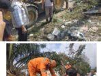 Wako Ahmadi saat meninjau pelaksanaan Jumat bersih di kawasan Dusun Baru.