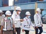 Gubernur Jambi H. Al Haris saat melepas ekspor komoditas pertanian Provinsi Jambi di Pelabuhan Talang Duku Pelindo 2.