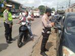 penyekatan penyeimbang di wilayah Polres Muaro Jambi.