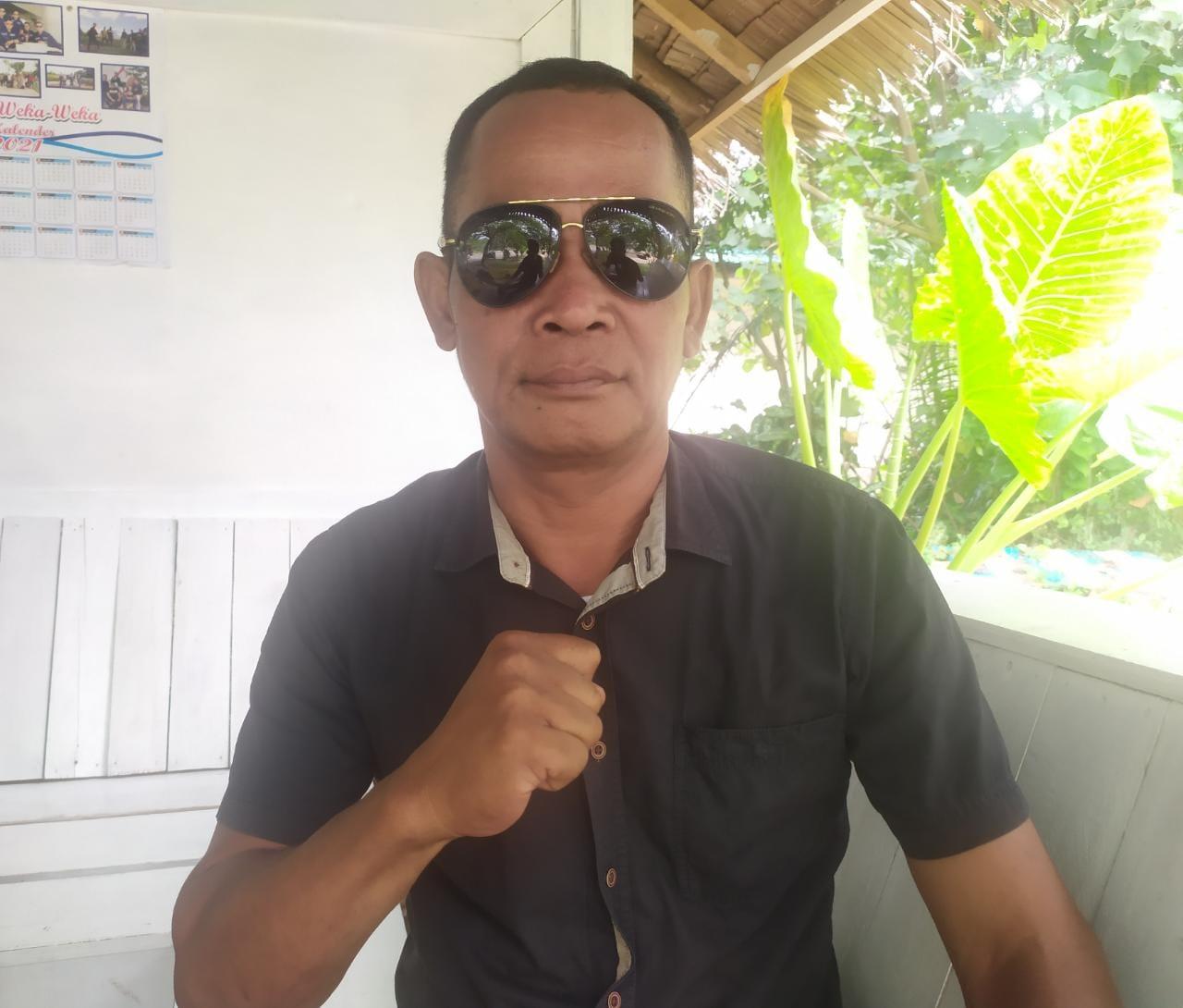 Ketua Laskar Merah Putih Perjuangan (LMPP) Muaro Jambi, Syahrial.(Foto:Raden Hasan Efendi/Jambipers.com).