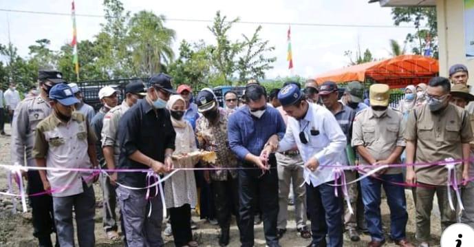 Peresmian Pasar Ternak Sungai Sirah Desa Koto Dua, Kecamatan Pesisir Bukit, Kota Sungai Penuh.