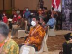 Bupati Batanghari Muhammad Fadhil Arief saat mengikuti Rapat Kerja Nasional XIII APKASI di Pecatu Ballroom BNDCC Nusa Dua, Badung, Bali.