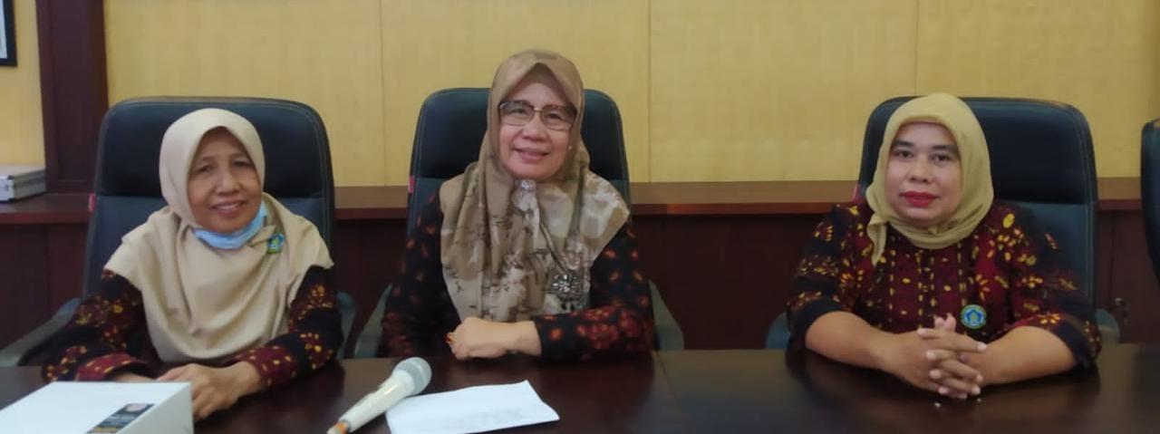 Tim Pokja Bunda PAUD Muaro Jambi saat memimpin Rakor di Aula Dispenda.(Foto:Raden Hasan Efendi/Jambipers.com).